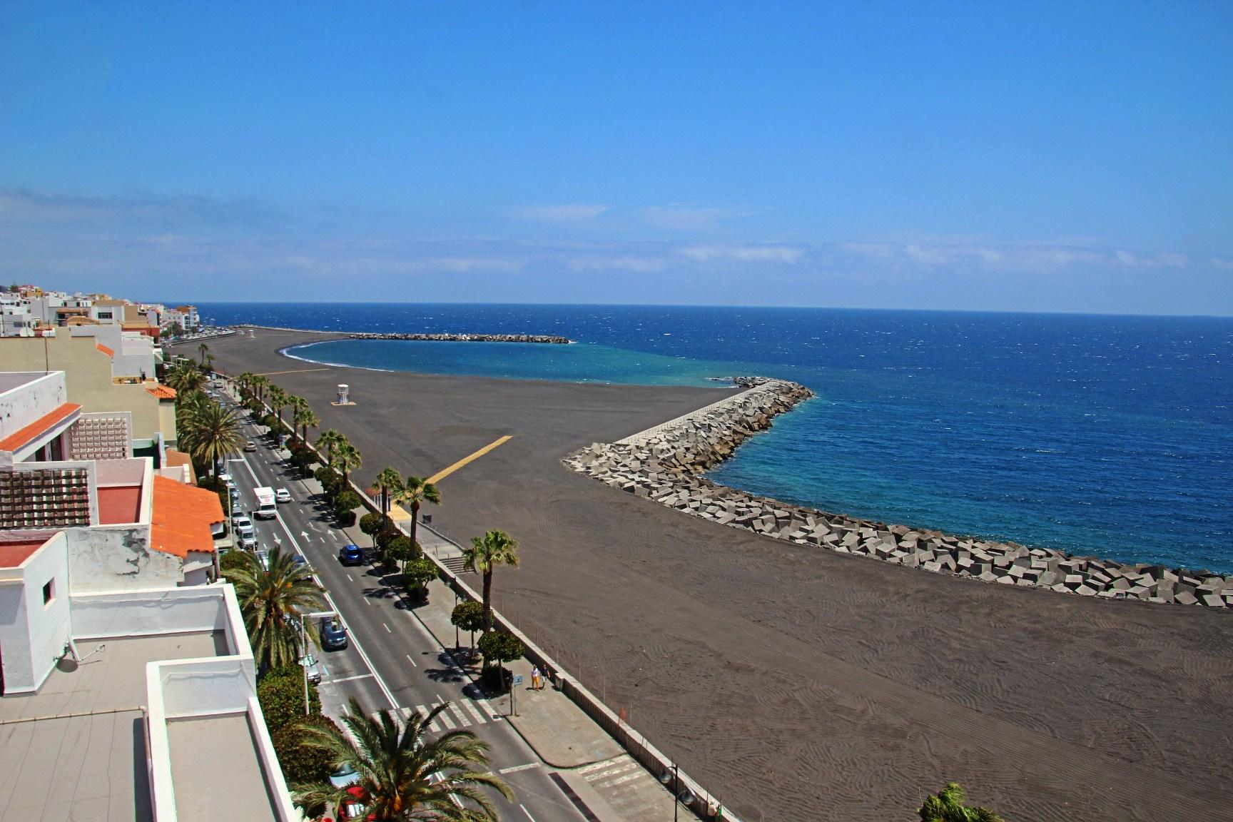 La nueva playa de Santa Cruz de La