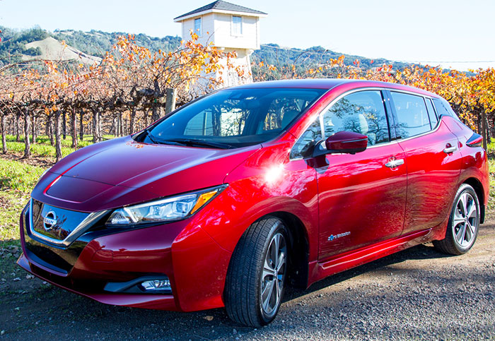 ProPilot in 2018 Nissan Leaf hands-on