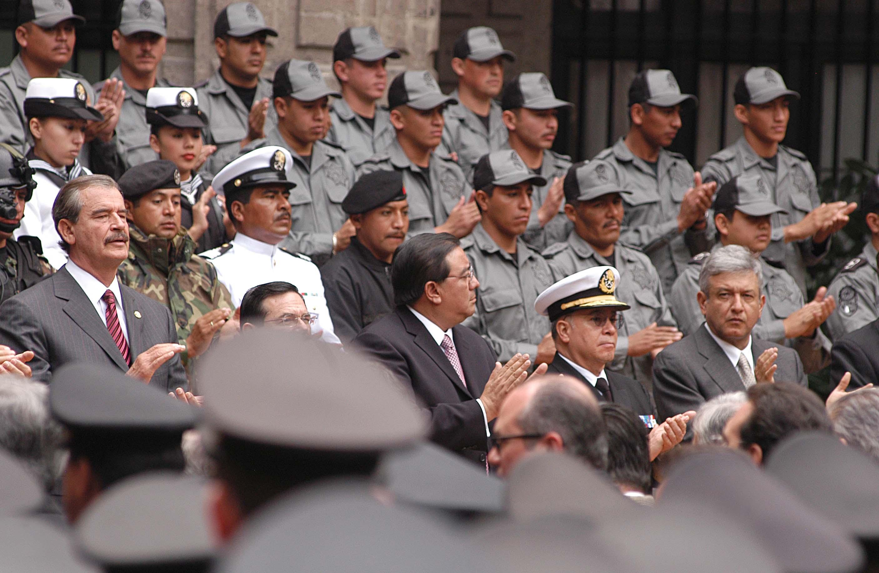 📷 AMLO regresó a Palacio Nacional tras 13 años de