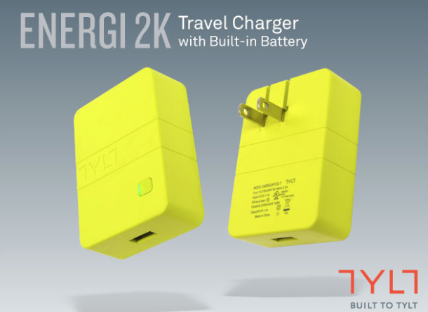 Tylt charger/battery pack