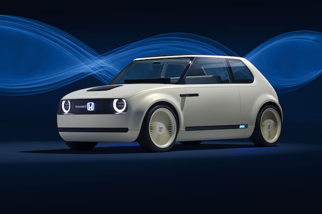Honda Urban EV Concept previews retro styled city auto at IAA 2017