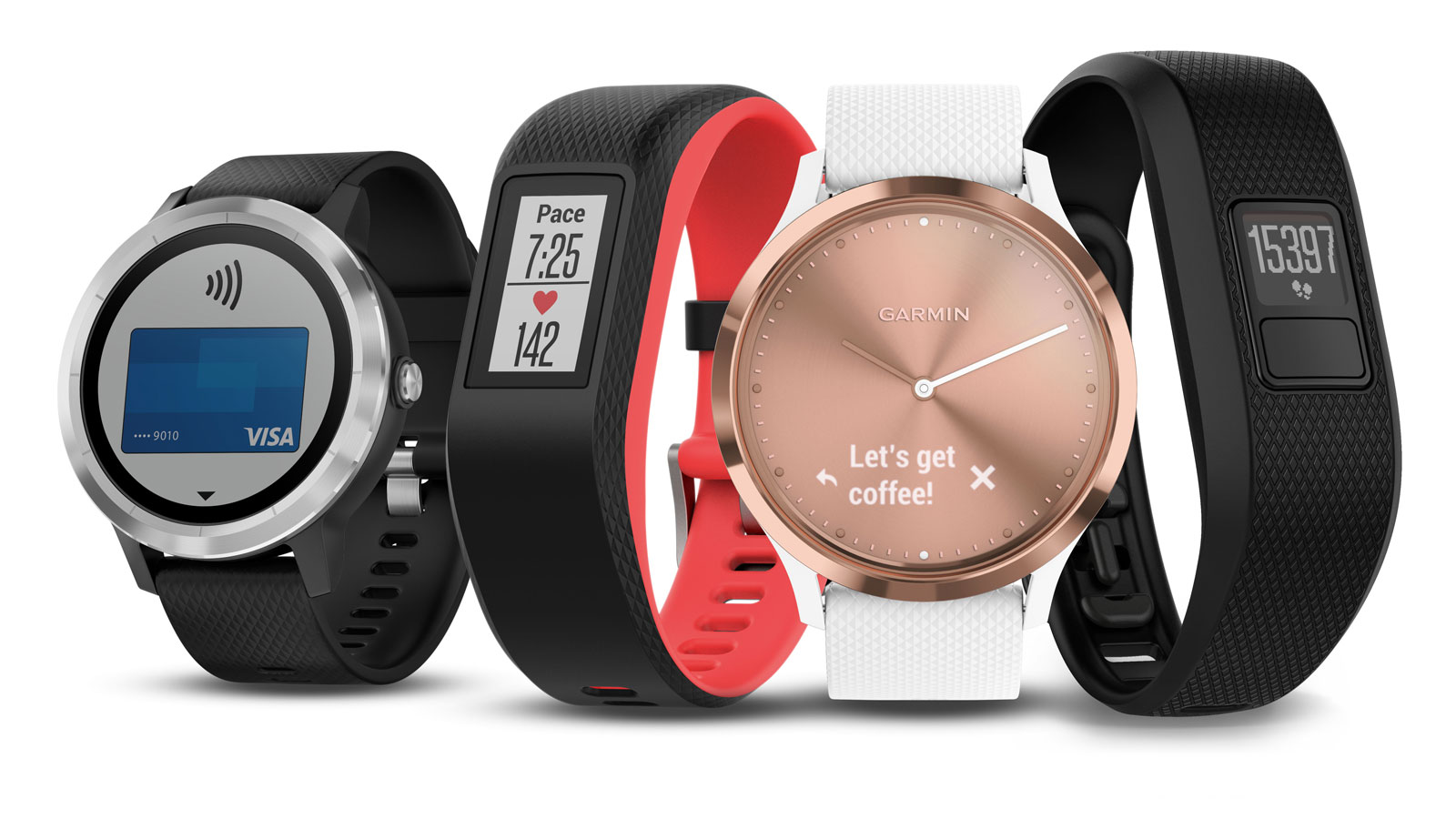Garmin 39 s latest smartwatch can buy your post run drink for Watches garmin