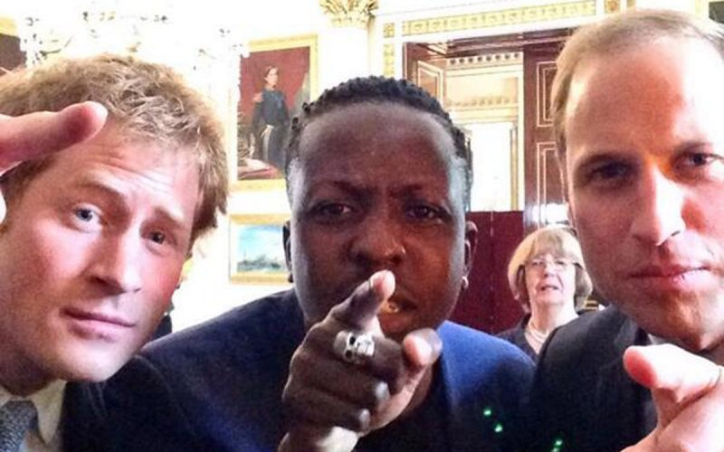 Prince Harry Prince William selfie