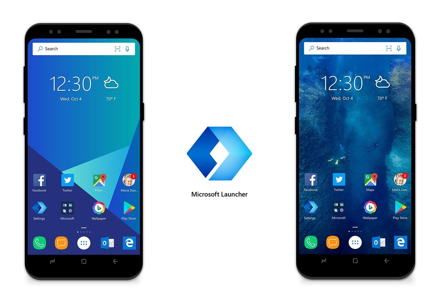 androidとwindows 10を連携しやすくする microsoft launcher