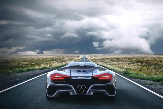 ヘネシーが世界最速のロードカーを目指して開発した「ヴェノム  F5」 正式発表前にチラ見せ