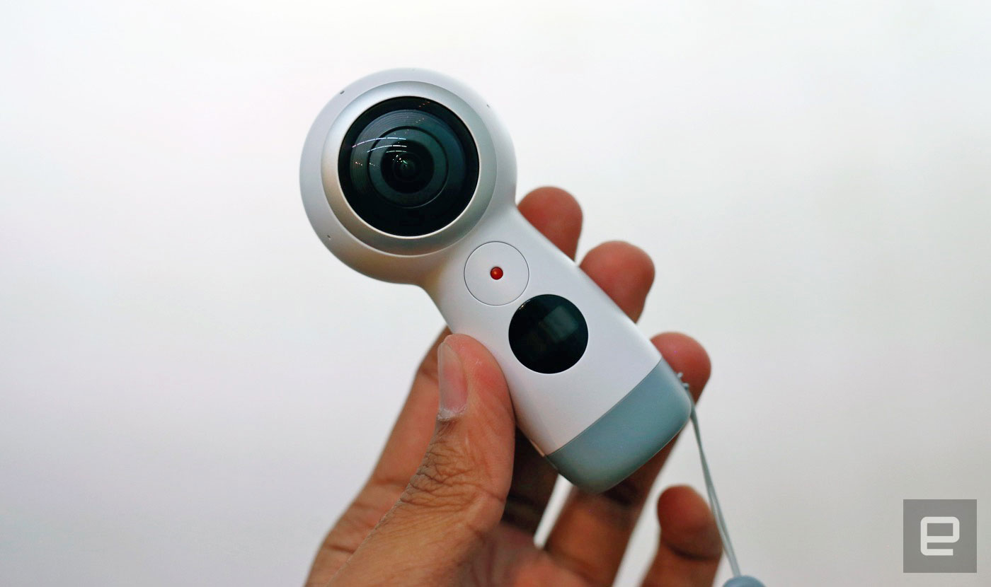 新款 Samsung Gear 360 可以串流直播