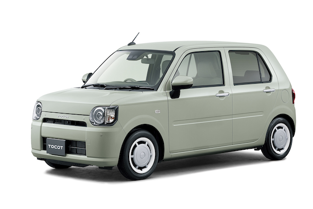 ダイハツから、シンプルなデザインで安心して乗れる新型軽乗用車「ミラ トコット」が登場