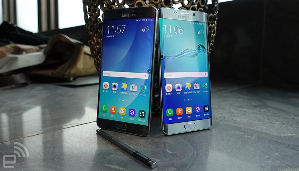 三星 Galaxy S6 Edge+ / Note 5 香港定价公开,21 日开卖