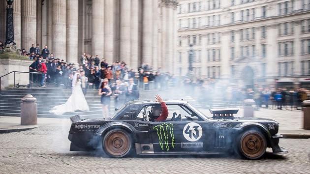 【ビデオ】ケン・ブロックが『トップギア』でロンドンの街を爆走した映像が、再編集されて公開!