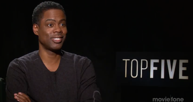 Chris Rock Top Five Interview