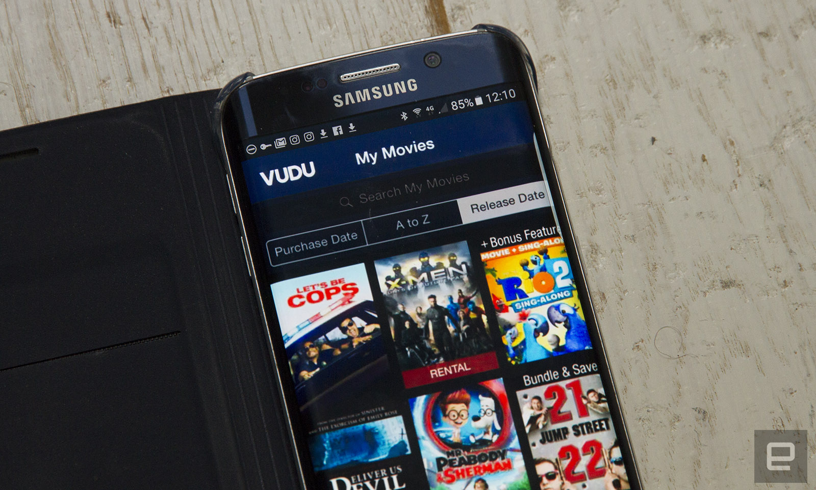 Vudu's mobile app rips digital copies of your Blu-rays