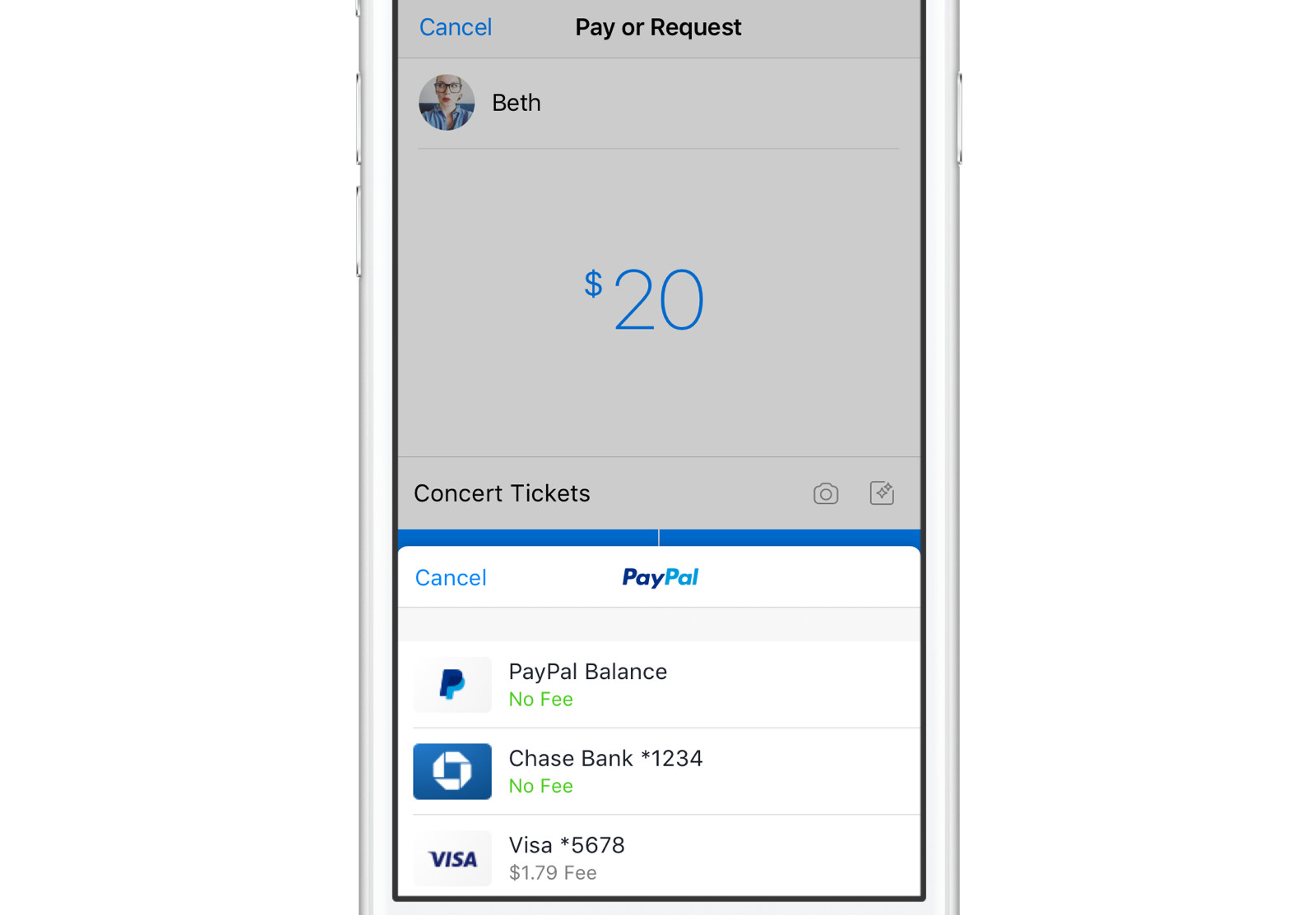 Facebook Messenger lets you send cash to friends with PayPal