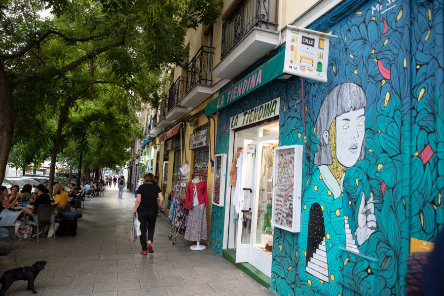 Guide du quartier Embajadores de Madrid,