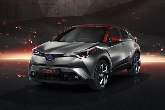 トヨタ、「C-HR Hy-Power コンセプト」をフランクフルトで発表! ハイパワーなハイブリッドは市販モデルに採用予定