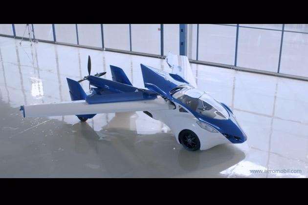 【ビデオ】空飛ぶクルマがついに実現? 「AeroMobil 3.0」の飛行ビデオが公開