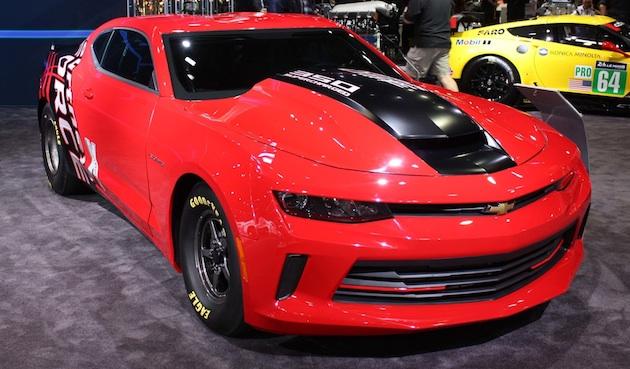 【SEMAショー2015】シボレー、市販ドラッグレース用車両「COPOカマロ」の新型を発表!