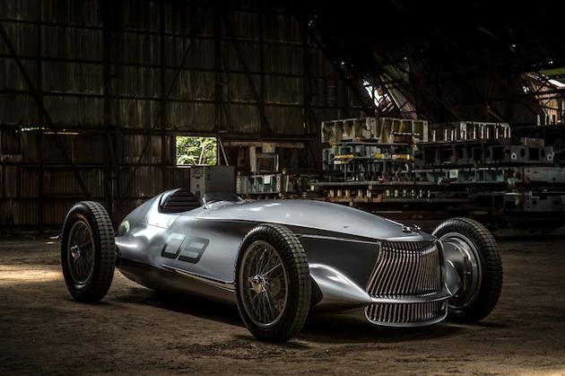 インフィニティ、1940年代のレースカーから着想を得た電気自動車「プロトタイプ 9」を発表!