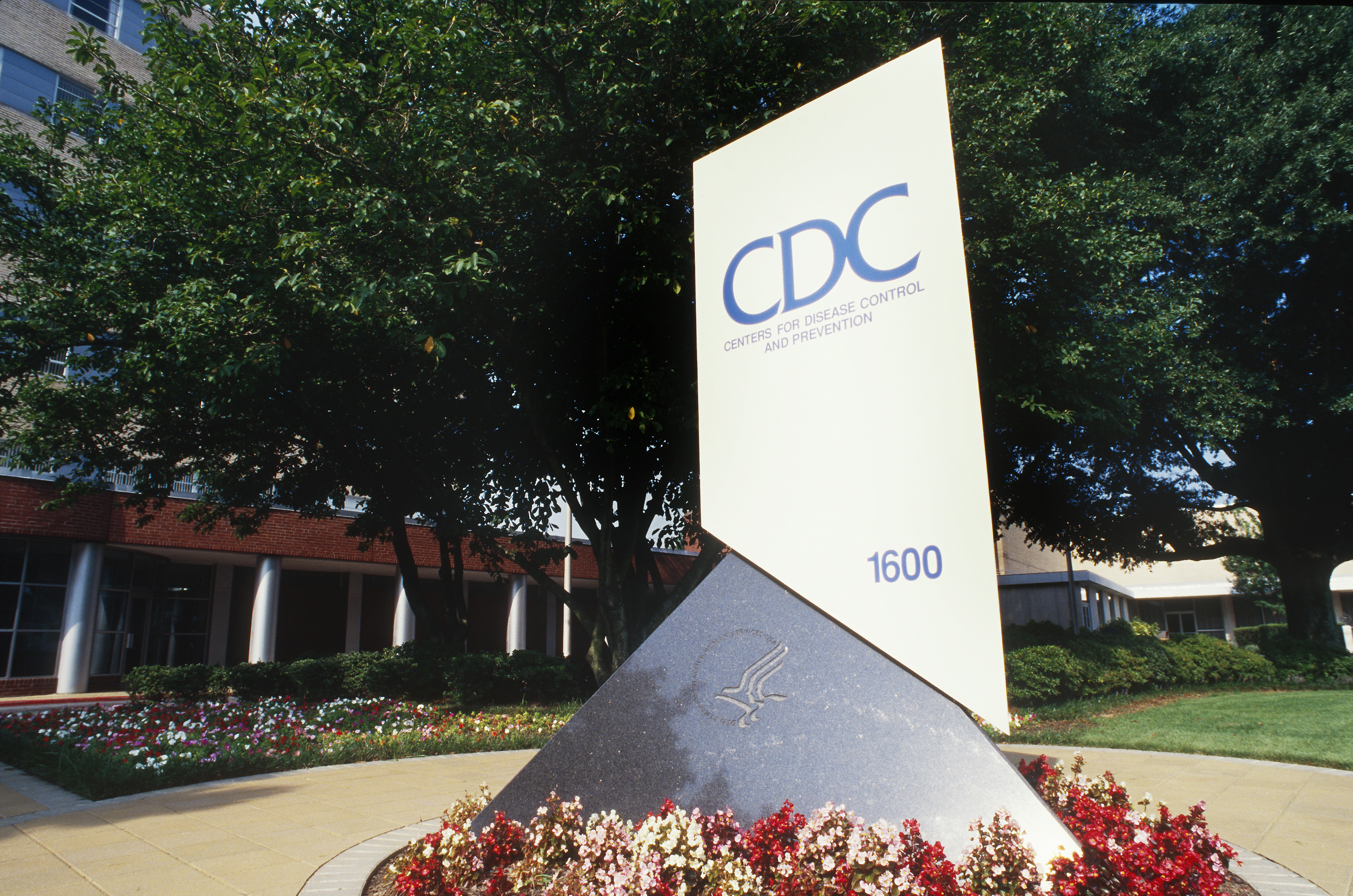 The front entrance of the Center for Disease Control and Prevention (CDC) in Atlanta, Georgia. (Getty)