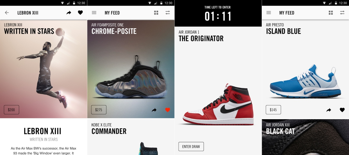 a778489c011f Nike SNKRS app arrives for Android sneakerheads