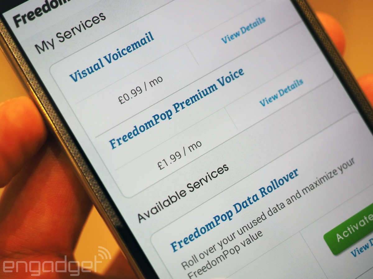A week with FreedomPop in the UK: You can't argue with free