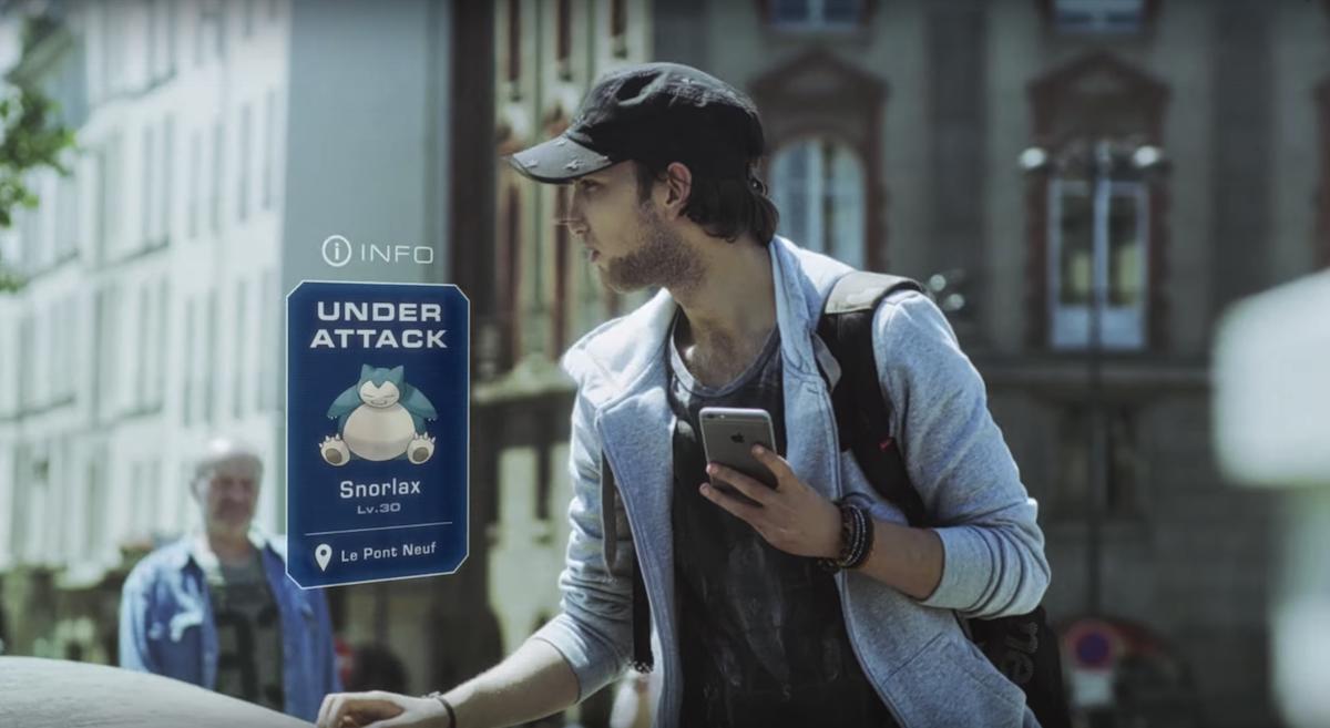 「Pokemon Go」让你在现实世界中抓口袋怪兽
