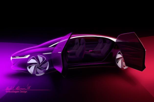 フォルクスワーゲンの電気自動車コンセプト「I.D.」ファミリー4番目の車種は、完全自動運転の高級セダン!