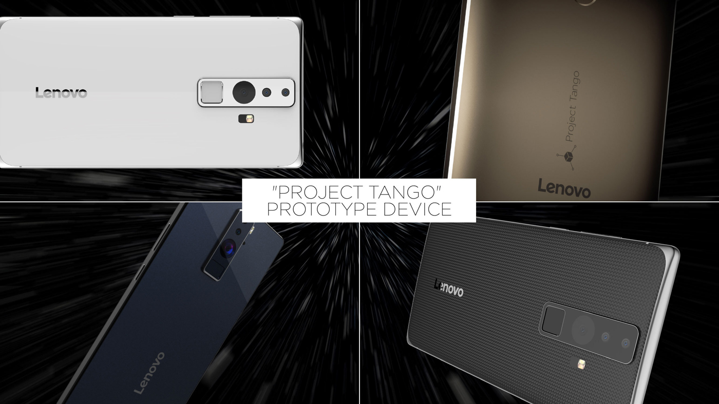 Lenovo's Project Tango phone prototype