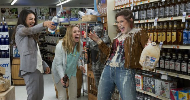 BAD MOMS stars Mila Kunis, Kristen Bell, and Kathryn Hahn