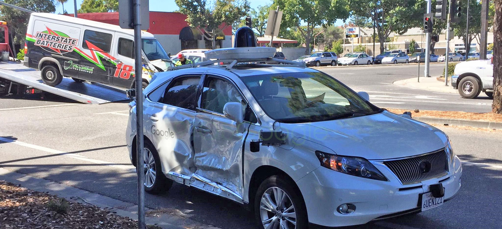 Google S Self Driving Car Is The Victim In A Serious Crash