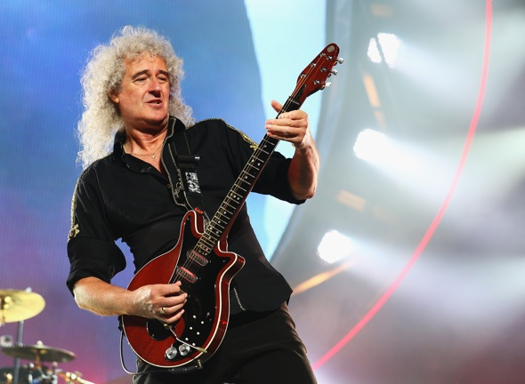 Queen star Brian May buys £10k first class seat for his guitar