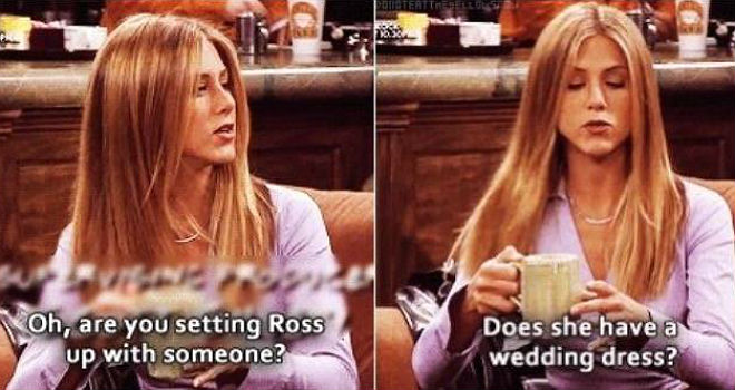 rachel green friends quotes