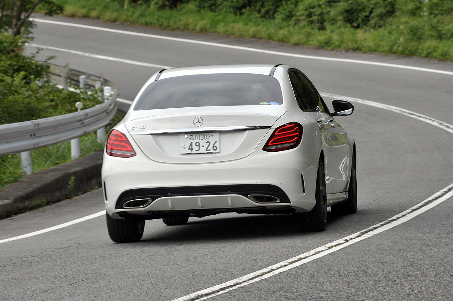 Mercedes-Benz The C-Class Laureus Edition