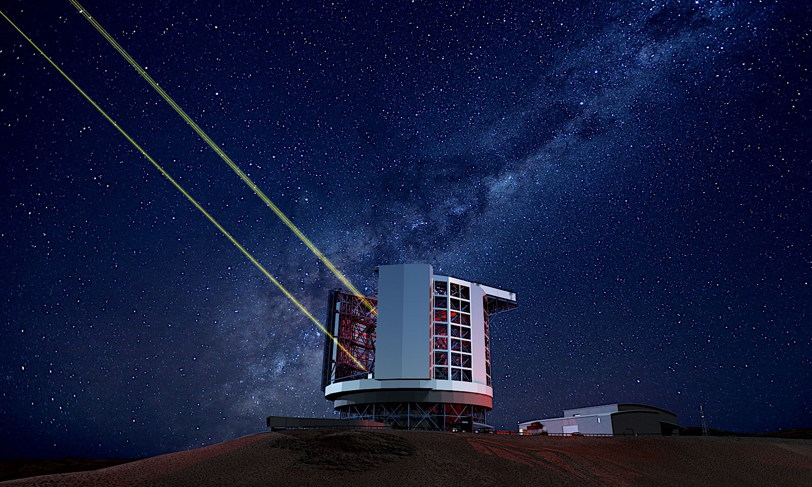 The world's largest telescope will unlock the universe's oldest secrets