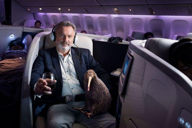 Film fans spot Jurassic favourite in Air New Zealand advert