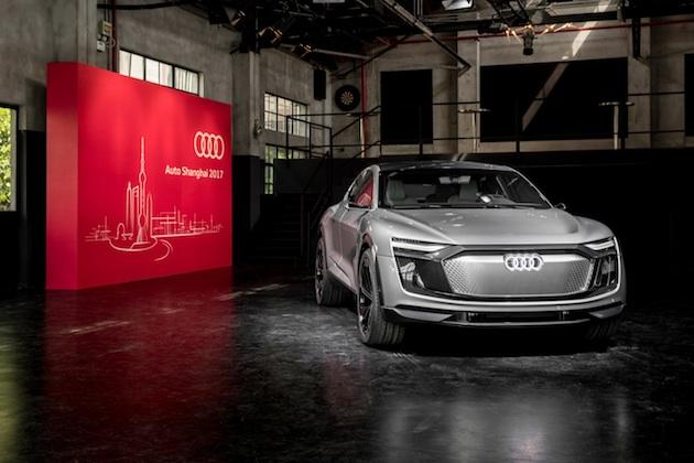 アウディ、2019年に市販化予定の「e-tron スポーツバック」を上海モーターショーで公開