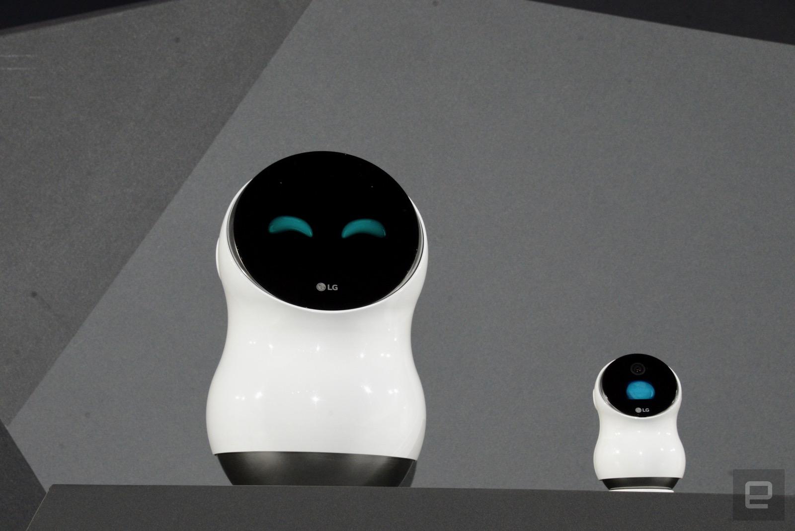 LG 的新機器人不管在家還是在機場都能給予你幫助