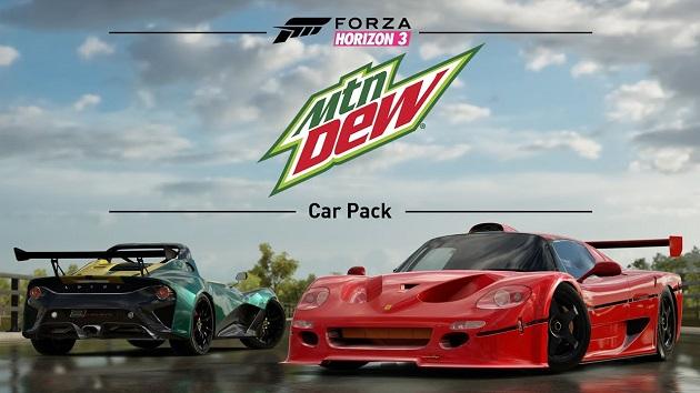 【ビデオ】『Forza Horizon 3』最新カーパック、今回はフェラーリ「F50 GT」やAMC「グレムリン」などを収録!