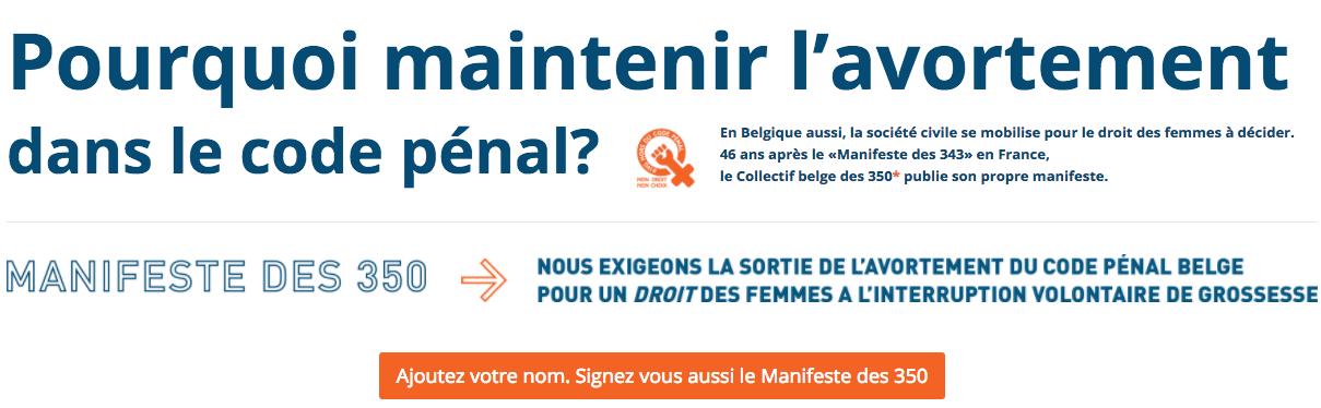 Avoir le même droit à l'avortement en Belgique qu'en France, c'est trop