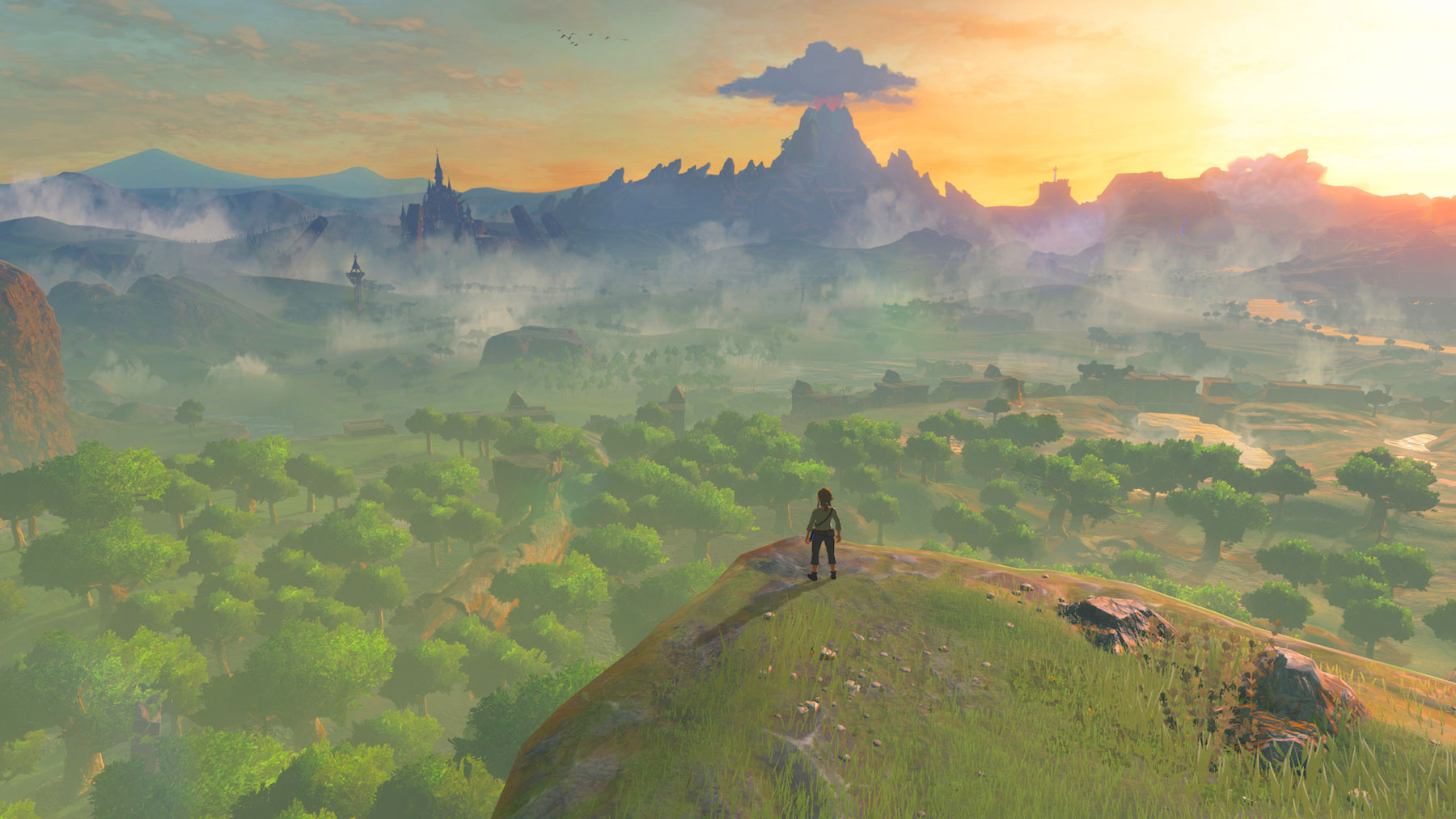 The new Zelda 'Breath of the Wild' trailers are the best yet