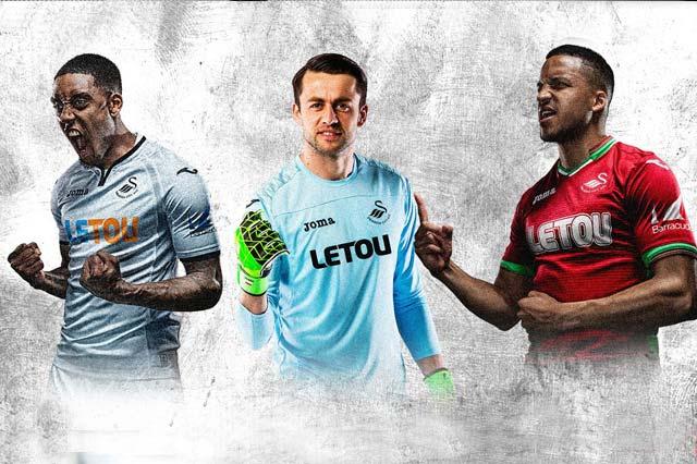 Swansea FC 2017/18 kits