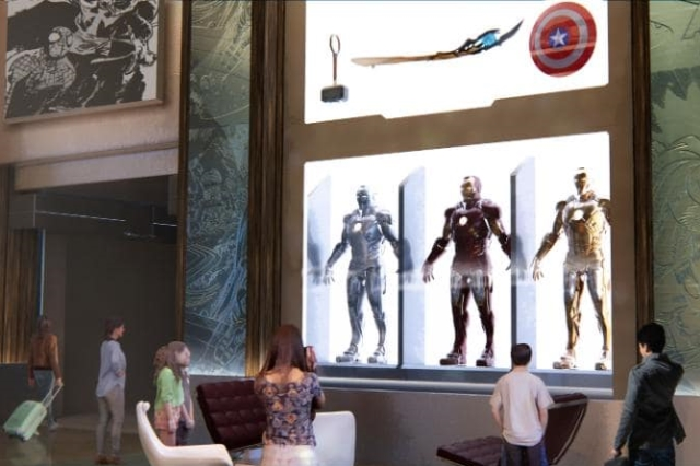 Disney Marvel hotel