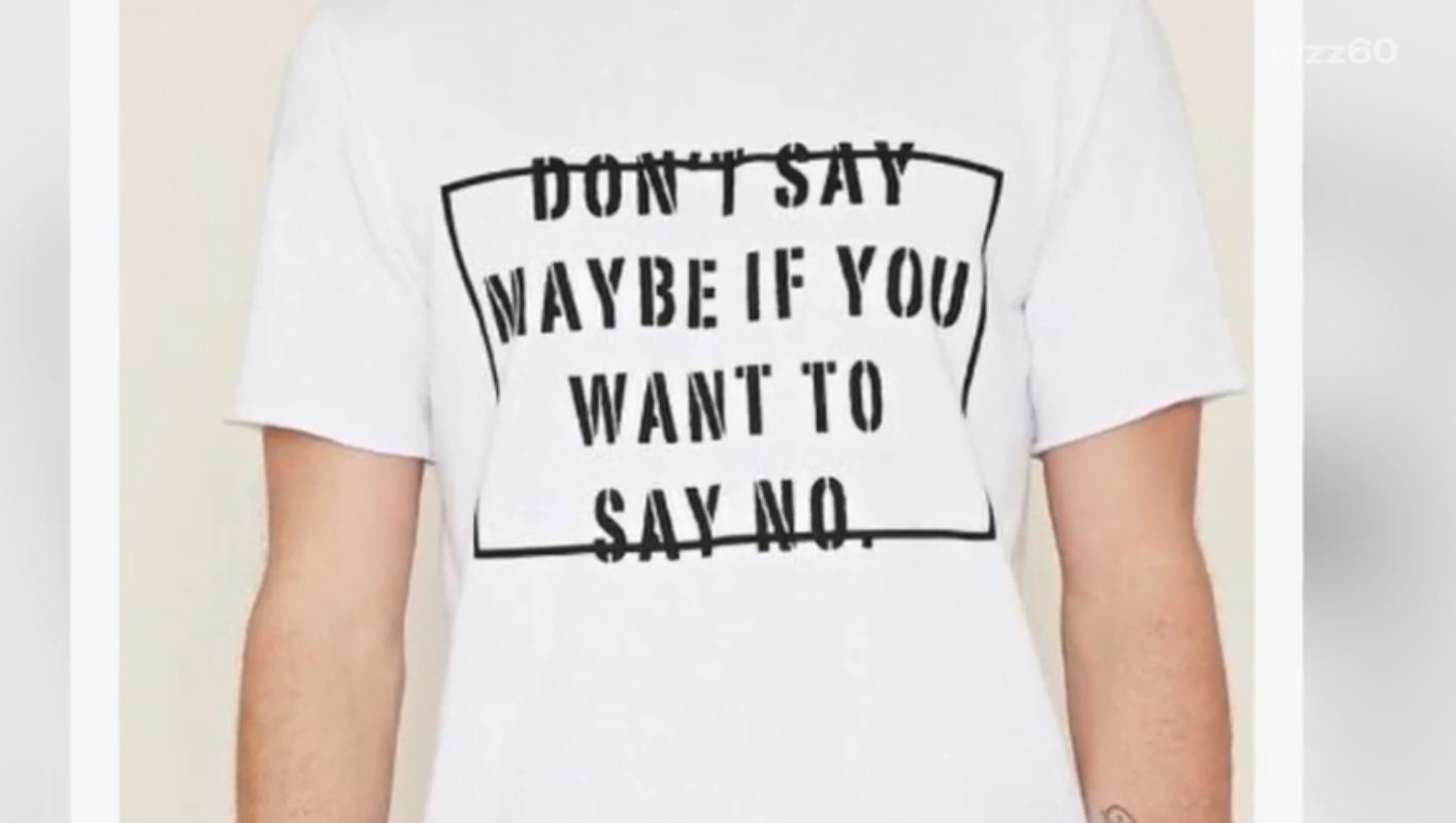 Forever 21 rape culture T-shirt
