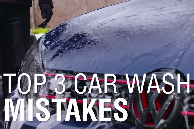 【ビデオ】誤った洗車で愛車を傷付けないために! プロが教える、3つの間違いとその解決策【3分間で分かる】