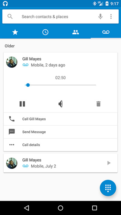 how to setup voicemail in moto g4 play