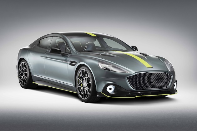 アストンマーティン、レースで培われた技術を4ドア・モデルに注ぎ込んだ「ラピード AMR」を発表!
