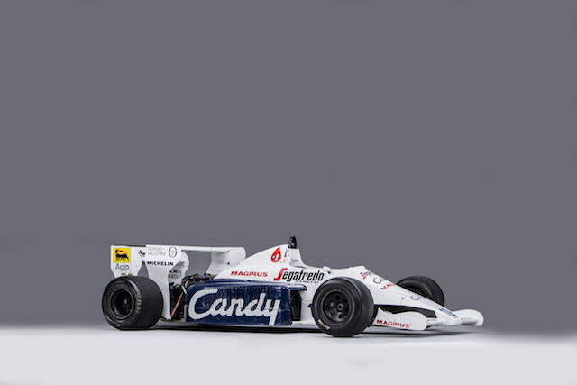 Senna's 1984 Toleman-Hart F1 car available at auction