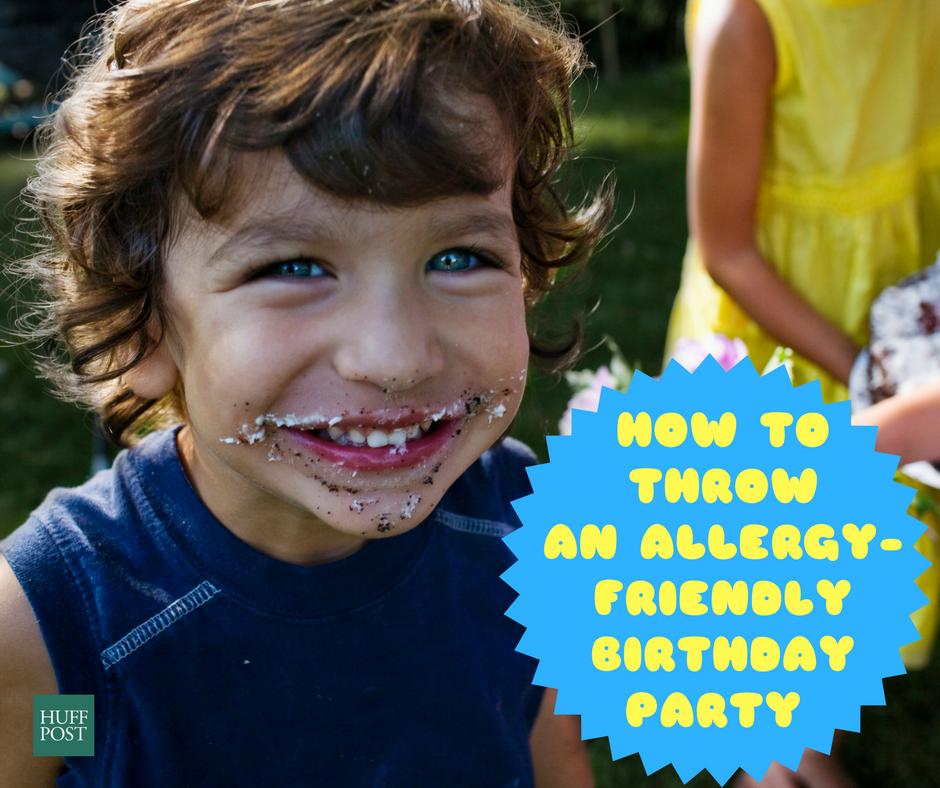 How To Throw An Allergy-Friendly Birthday
