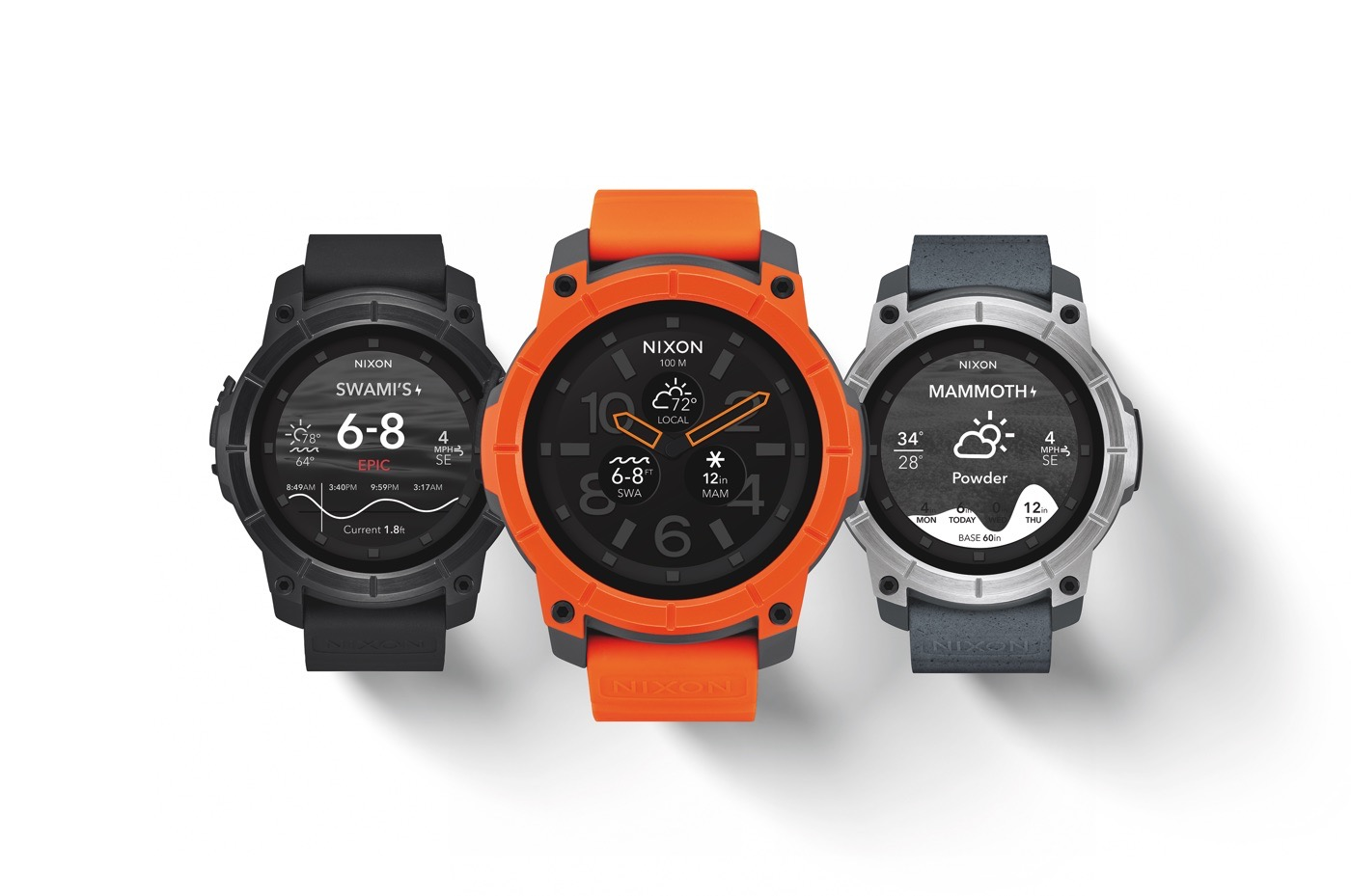 Image result for Nixon android smart watches Mission