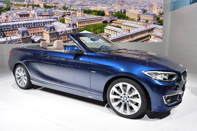 【ParisMotorShow2014】BMWがお披露目した「2シリーズ カブリオレ」(ビデオ付)