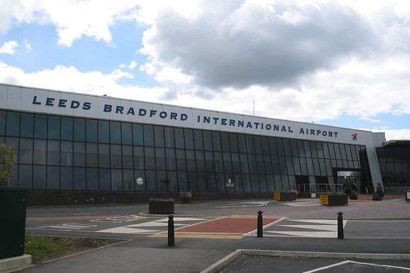 Plane crash at Leeds Bradford Airport causes delays